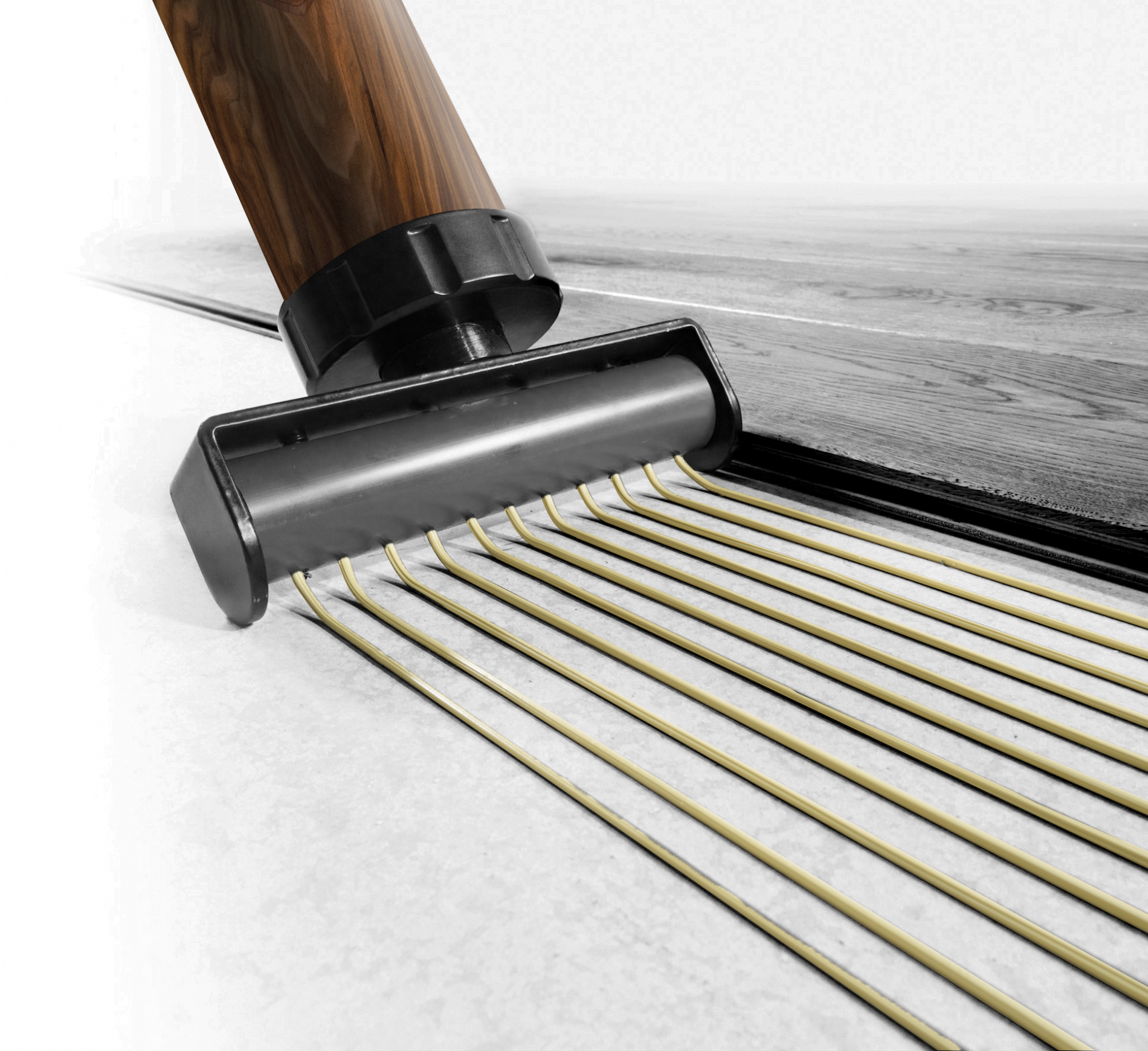 THE FASTEST WOOD FLOORING ADHESIVE APPLICATOR IN TOWN.
