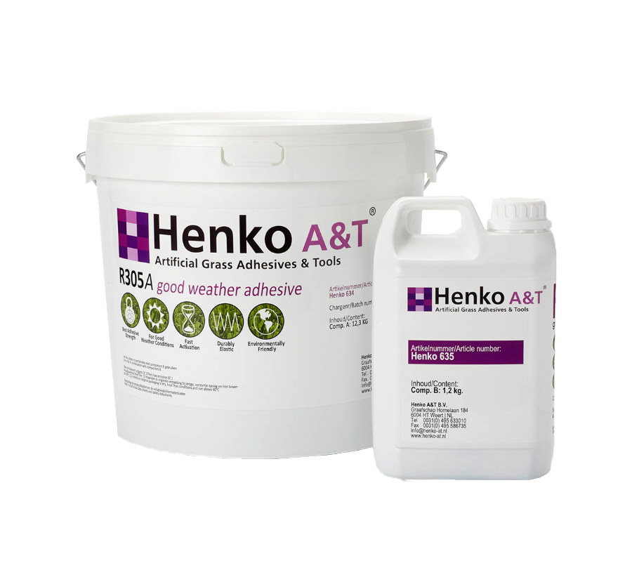 Henko R305 Two Component Polyurethane Good Weather Adhesive